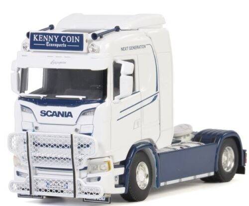 WSI01-2745 - Camion 4x2 solo SCANIA S Normal aux couleurs transport KENNY COIN -