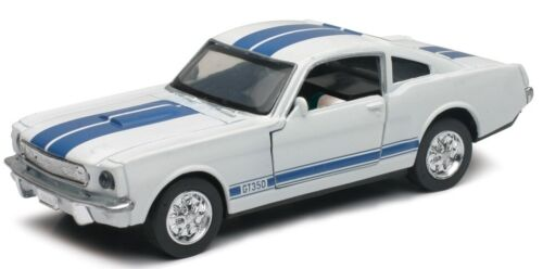 - NEW51393C - Voiture sportive FORD Shelby GT350 couleur blanche  -