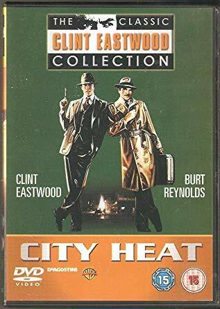 CITY HEAT - THE CLASSIC CLINT EASTWOOD COLLECTION- DVD- R-4- NEW- FREE POSTAGE