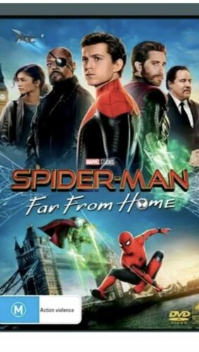 Spiderman Far From Home (DVD, 2019) NEW & Sealed! Region 4