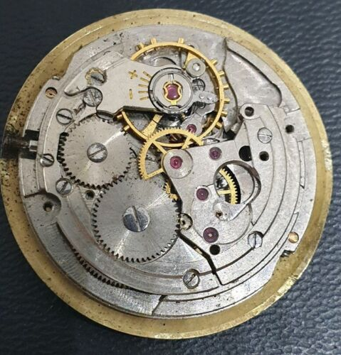Vintage Nivada Automatic Caliber ETA 2452 for Parts dont work not complete