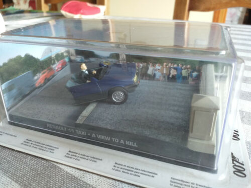Voiture 007 james bond - renault 11 taxi - GE fabbri - a view to kill -