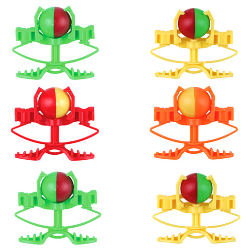 6 Crazy Ball Shooters Kids Party Bag Fillers Boy Xmas Stocking Pocket Money Toy