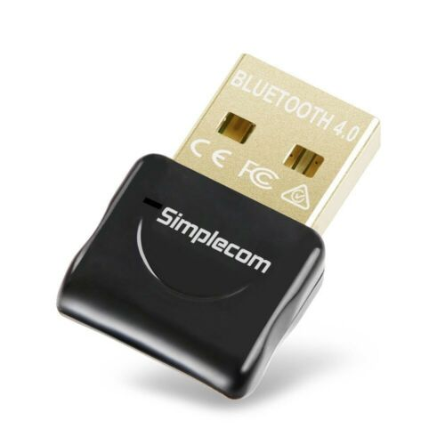 Simplecom USB Bluetooth 4.0 Widcomm Wireless Dongle Adapter with A2DP EDR