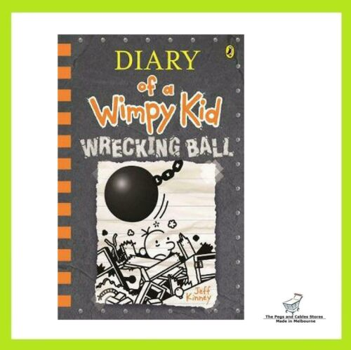 Diary of a Wimpy Kid #14: Wrecking Ball by Jeff Kinney (Paperback)