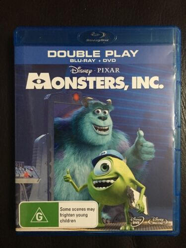 Monsters, Inc. - (Double Play) Blu-ray + DVD