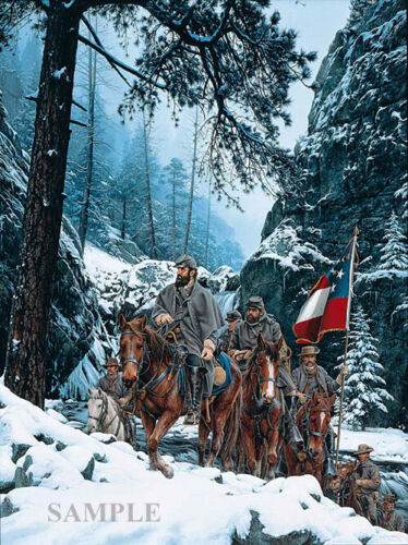 """THE ROMNEY EXPEDITION""  By John Paul Strain  (Artist's Proof Canvas Giclee)"