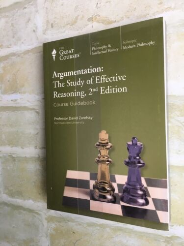David Zarefsky - ARGUMENTATION: THE STUDY OF EFFECTIVE REASONING 2ND EDITION DVD