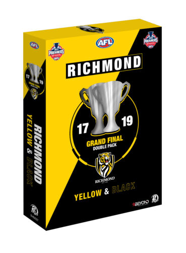 BRAND NEW AFL Premiers Richmond 2017 / 2019 Grand Final DVD Double Pack PREORDER