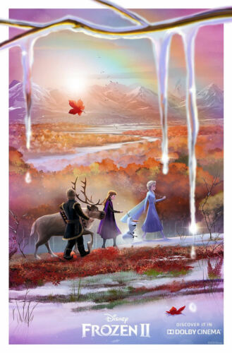 """Frozen 2  ( 11"""" x 17"""" ) Movie  Collector's  Poster Print  ( T7 )- B2G1F"""