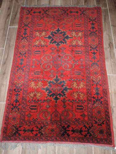 3x5ft. Semi Antique Khal Muhammidity Wool Rug