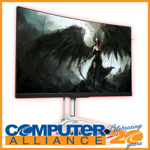 """31.5"""" AOC AGON AG322QC4/75 QHD 144Hz Curved Monitor with Speakers"""