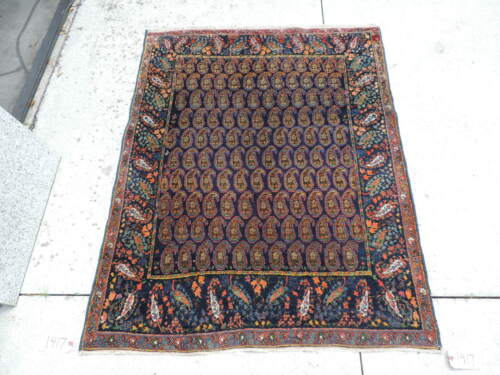 4x5ft. Antique Sultanabad Wool Rug