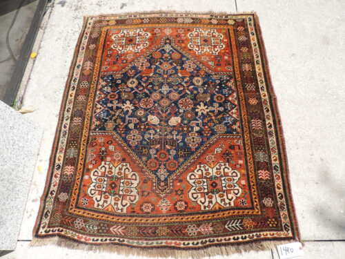 4x5ft. Antique Quasqui Wool Rug