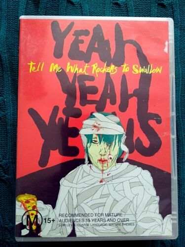 YEAH YEAH YEAHS TELL ME WHAT ROCKETS TO SWALLOW – DVD- R-ALL- LIKE NEW-FREE POST