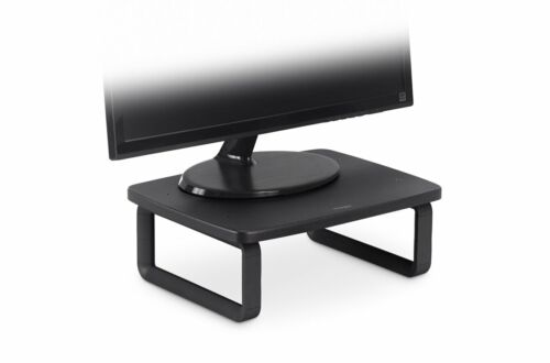 """Monitor Stand Plus for up to 24"""" Screens 3x height options Kensington Smart Fit"""