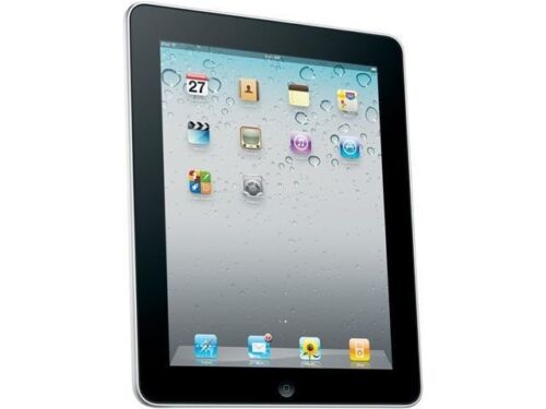 iPad 1st Gen A1219 64GB WiFi,  Black Apple Tablet,