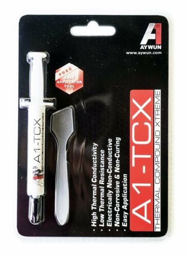 Thermal Paste Grease 3g Xtreme Aywun A1-TCX3 Compound for CPU GPU with Applicato