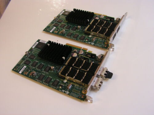 Lot of 2 NetApp / Chelsio Dual Port 10Gbe PCIe HBA Adapter 111-00293