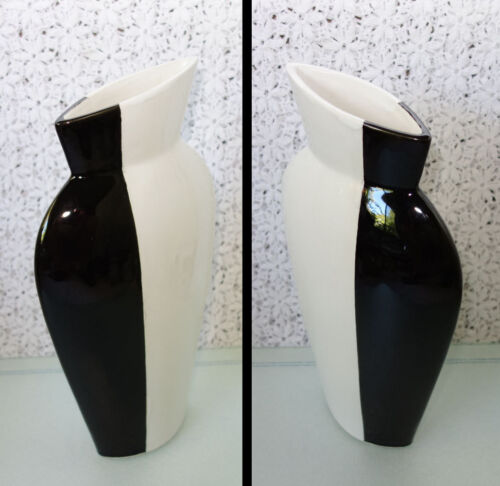 "EMISSARY Vase Modern Art Pottery Modernist / Minimalist 13"" height – RARE shape"