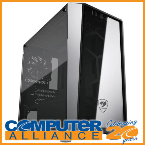 Cougar MicroATX MG120-G Tempered Glass Case Black