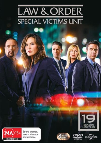 Law And Order SVU Season 19 : Brand New / Sealed Australian DVD