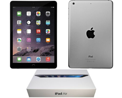 APPLE iPAD AIR 2   BUNDLE - OPEN BOX   16GB   SPACE GRAY   WI-FI ONLY