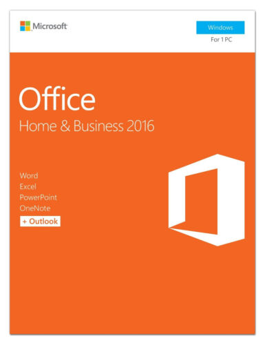 MS Office Home & Business 2016 Code Electronic License Download Version
