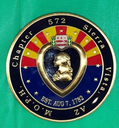 Military Order of the Purple Heart Chapter 572 - Sierra Vista, AZ CoinChallenge Coins - 74710