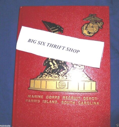 Marine Recruit Depot MCRD 2002 Parris Island Yearbook Company A 1068 1069 1070Other Militaria - 135