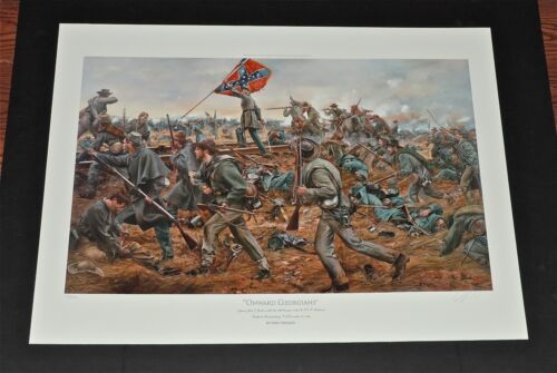 Don Troiani - Onward Georgians - Civil War Fine Art Print