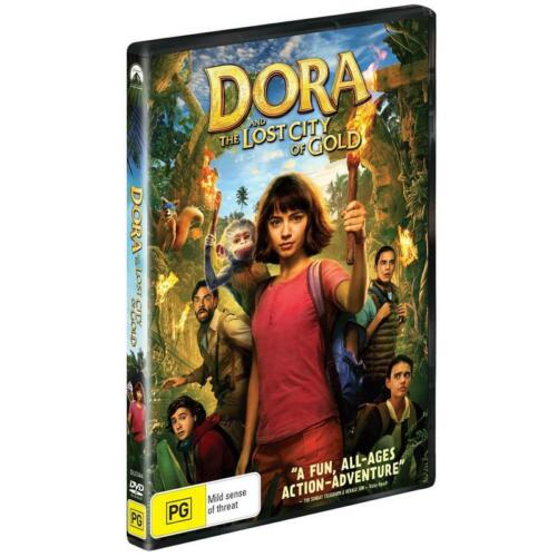 BRAND NEW Dora and The Lost City of Gold (DVD, 2020) R4 Movie Explorer