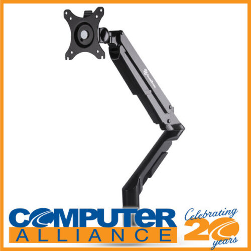 SilverStone SST-ARM12B Gas Spring Swing Monitor Mount