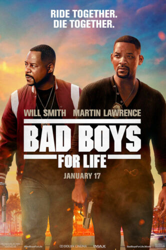 "Bad Boys for Life ( 11"" x 17"" ) Movie Collector's Poster Print (T2) - B2G1F"