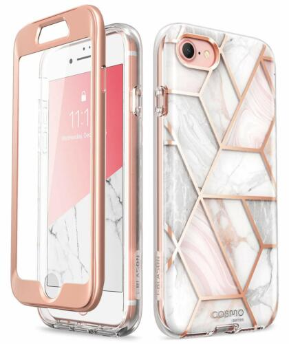 iPhone SE 7 8 Case i-Blason Cosmo Marble Full Body Protection Screen Protector