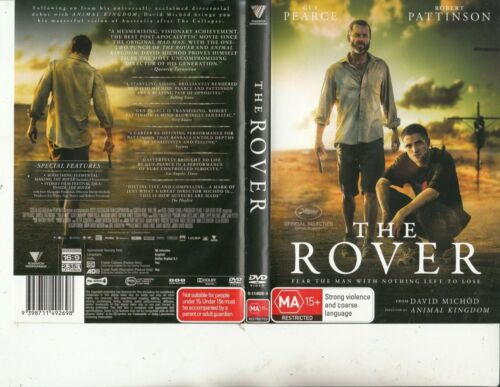 The Rover-2013-Guy Pearce-Movie-DVD