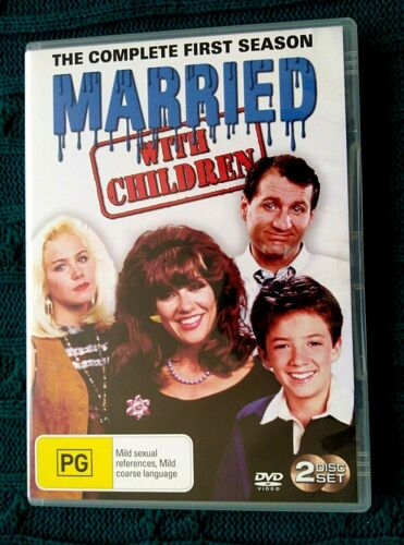 Married With Children : Season 1- DVD, 2-DISC -R-4-  LIKE NEW-FREE POST AUS-WIDE