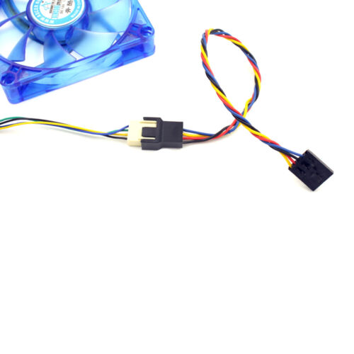 5 Pin to 4 Pin Fan Connector Adapter Extension Convertion Cable For Dell