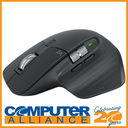Logitech MX Master 3 Advanced Wireless Mouse - Graphite 910-005698