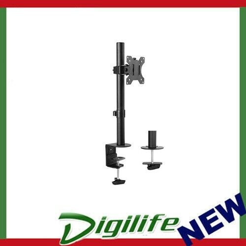 """Brateck Single Screen Economical Articulating Steel Monitor Arm For most 13""""-32"""""""