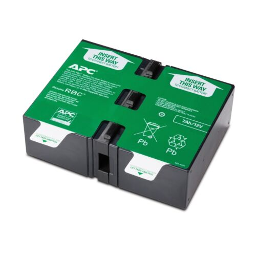 UPS Replacement Battery Cartridge # 123, 168VAH Capacity, APC - SCHNEIDER APCRBC