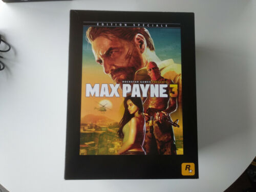 Coffret Collector Max Payne 3 ROCKSTAR complet Xbox 360 FR