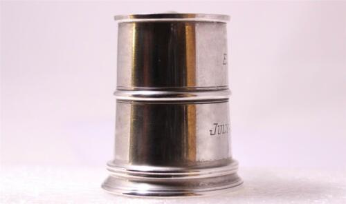 Vintage American Sterling Silver Christening Cup by R.Blackinton c.1954