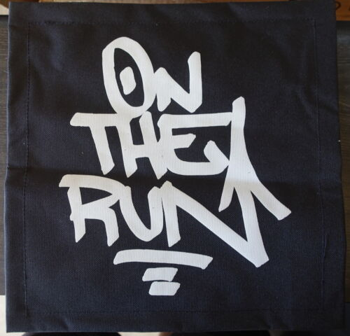 On The Run - canvas graffiti