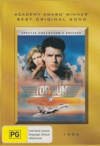 Top Gun - Academy Gold Collection (DVD) Never Watched- Like New-  Free postage