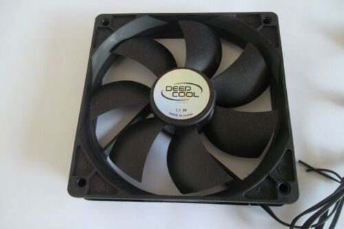 PC cooling fan Cooler Deep Cool 120mm x 120mm DC 12V  Pre-Owned