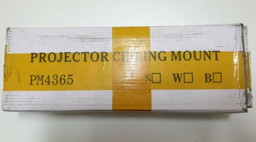 Projector Ceiling Mount Universal - PM4365 white powder coated