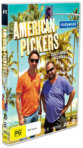 BRAND NEW American Pickers : California Picking (DVD, 2020) *PREORDER R4 Col.23