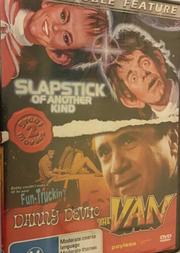 DoubleFeature,Slapstick Of Another Kind,The Van DannyDeVito,DVD NEW,R:ALL, FasPo