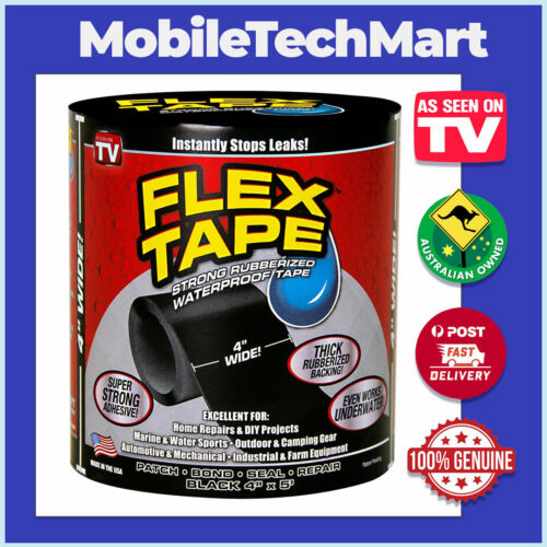 FLEX TAPE◉AS SEEN ON TV◉Super Strong Rubberised◉WaterProof◉Adhesive◉Bond◉Seal◉Oz